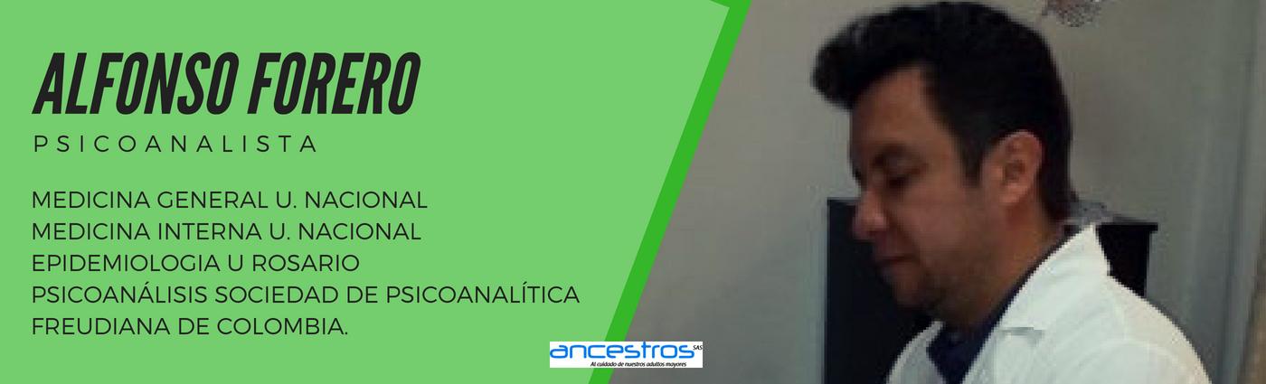 Psicoanalista Ancestros Hogar Geriatrico Bogotá