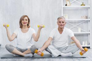 Si estas cerca de los 60 años, es mejor comenzar a hacer ejercicio